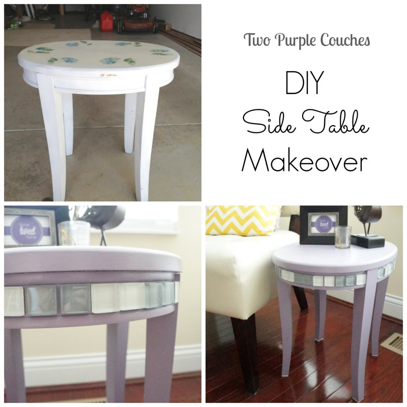 Side Table Makeover Before-After