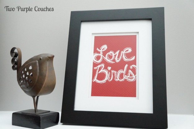 Love Birds Valentine's Art