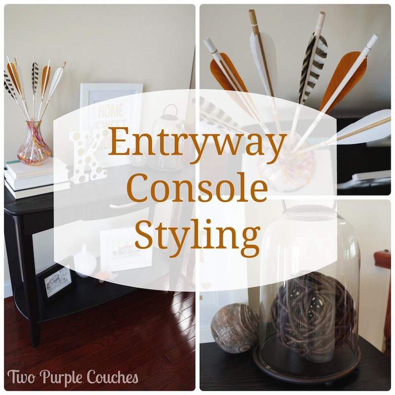 entryway Archives | two purple couches