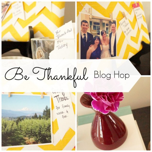 Be Thankful Blog Hop