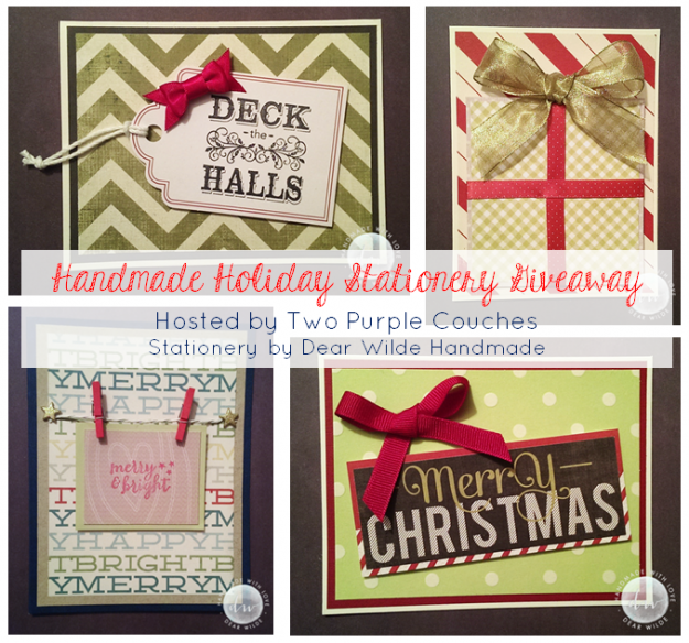 Dear Wilde Handmade Giveaway by TPC