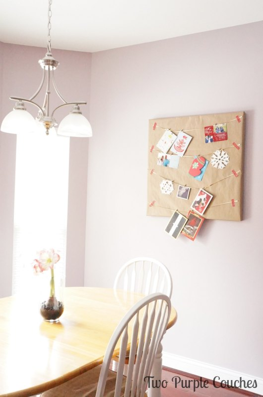 Kitchen card display