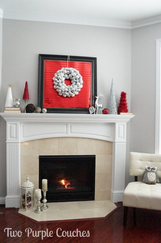 Mantel - Christmas Home tour