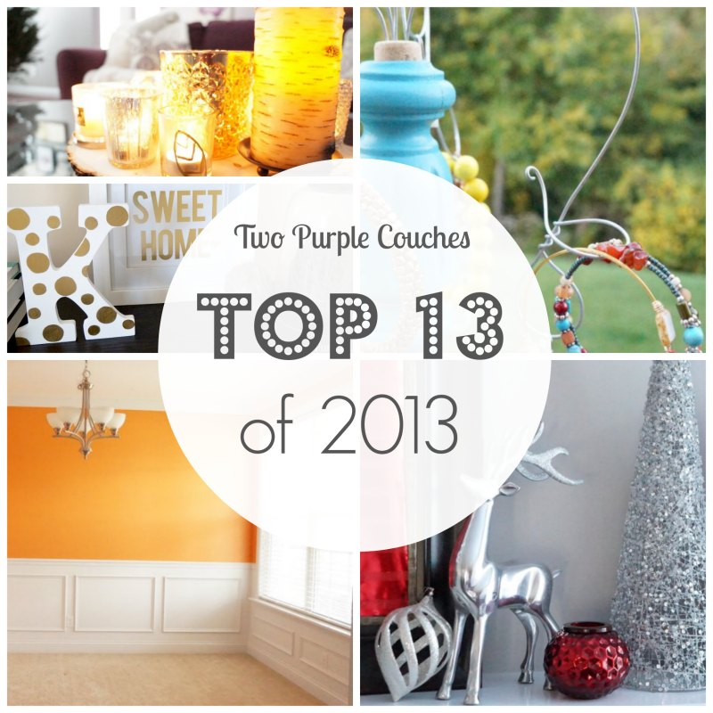 Top 13 of 2013 - Two Purple Couches