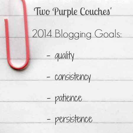 2014 Blogging Goals