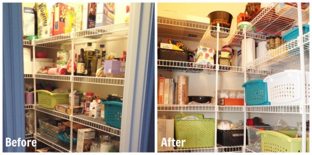 Pantry Before After