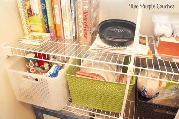 picnic supplies and cookbooks