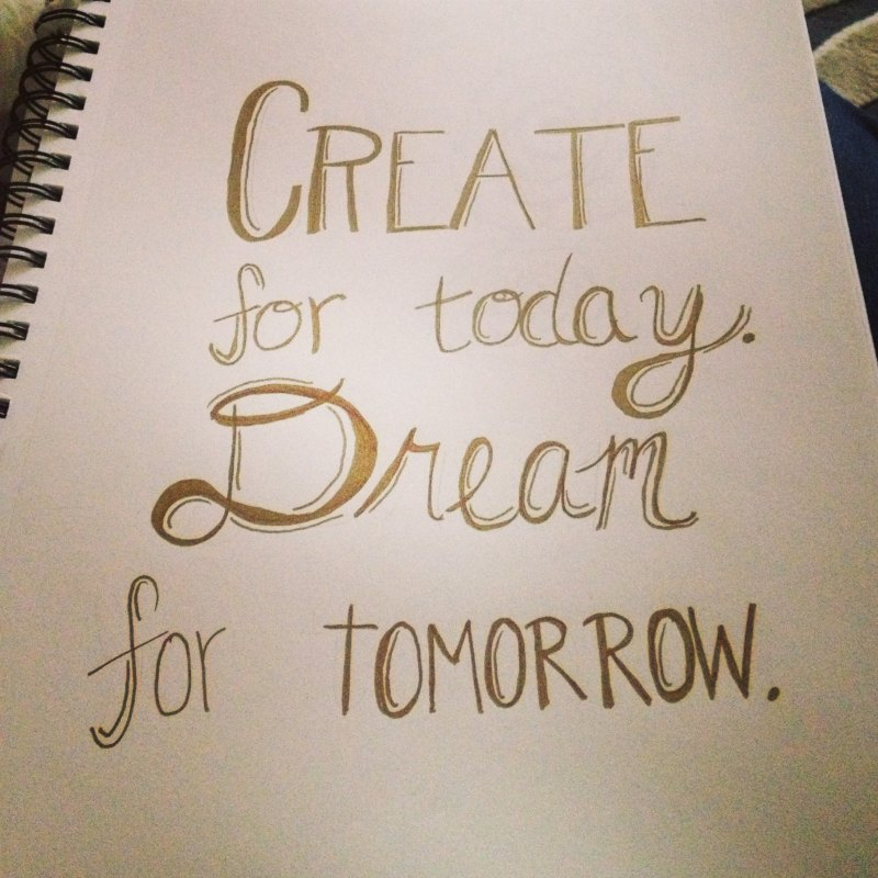Dream for tomorrow - Tips for Creative People