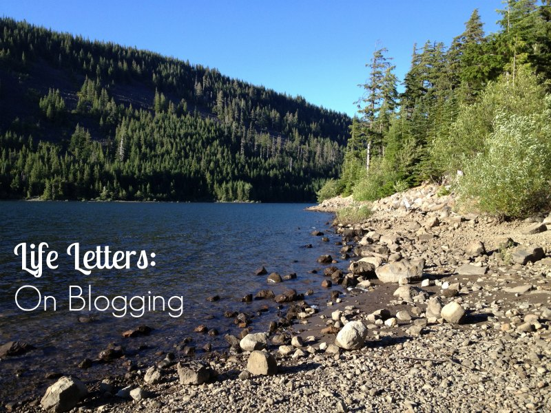 Life Letters On Blogging - Two Purple Couches