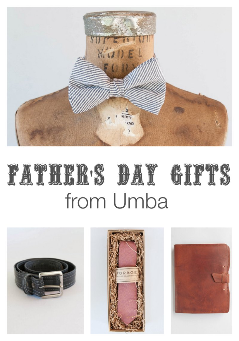 Fathers Day Gifts from Umba by Two Purple Couches #fathersday #handmade #handmadegifts #givehandmade #umba #shopumba