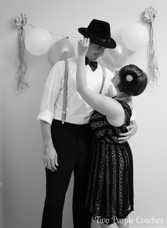 Create your own Roaring Twenties Party Photo Booth by Two Purple Couches