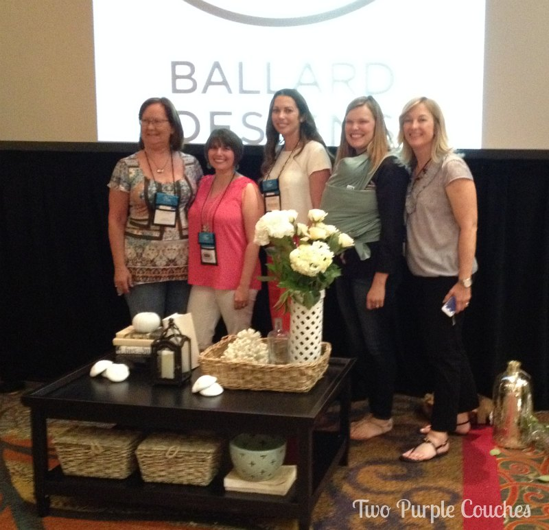 Ballard Designs Coffee Table Challenge Team at Haven Conference #havenconf