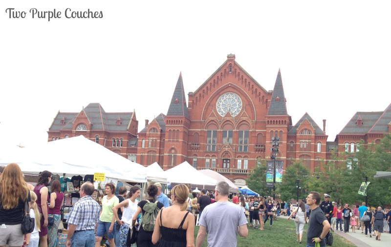 Cincinnati Music Hall on Washington Park is the scene for monthly City Flea events #thecityflea #thisisotr #musichall