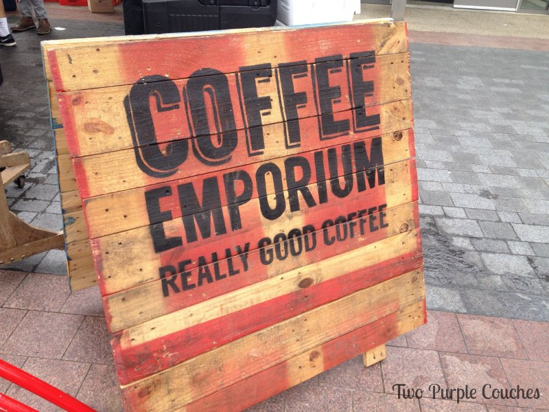 Delicious Coffee Emporium coffee at The City Flea #thecityflea #coffeemeporium