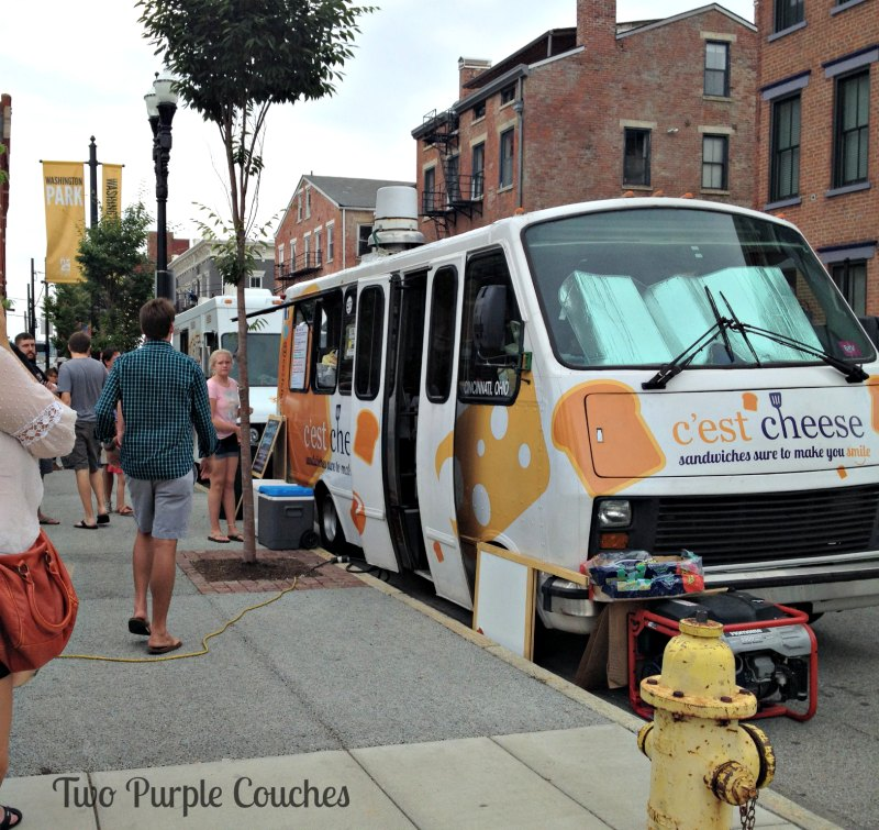Sample food from local food trucks at your local urban flea markets. #thiscityflea #thisisotr #foodtrucks