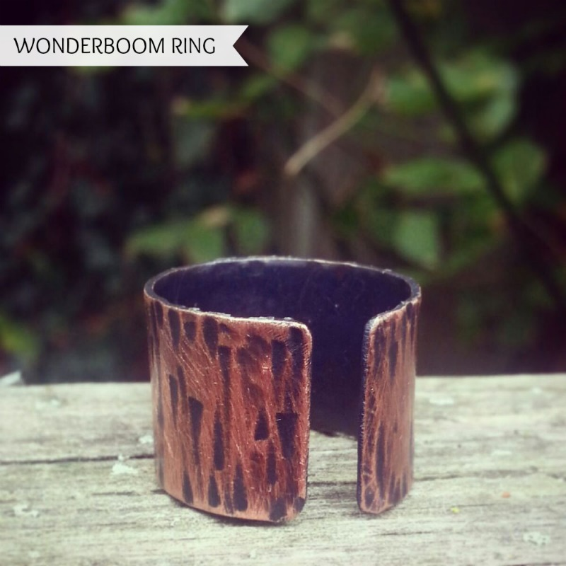 Wonderboom Ring by Some Days Ago handcrafted jewelry #buyhandmade #somedaysago #jewelry www.twopurplecouches.com