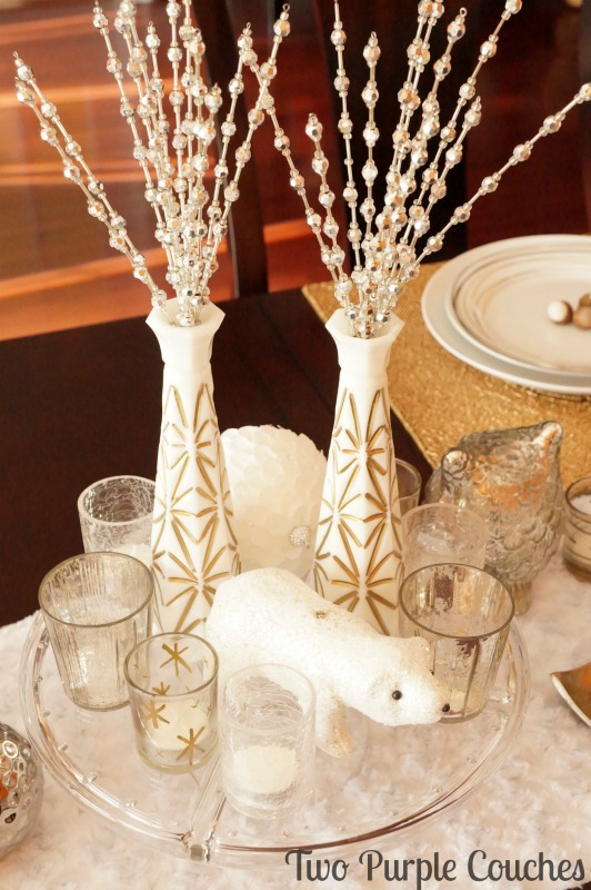 Cake Stand Display Holiday Centerpiece