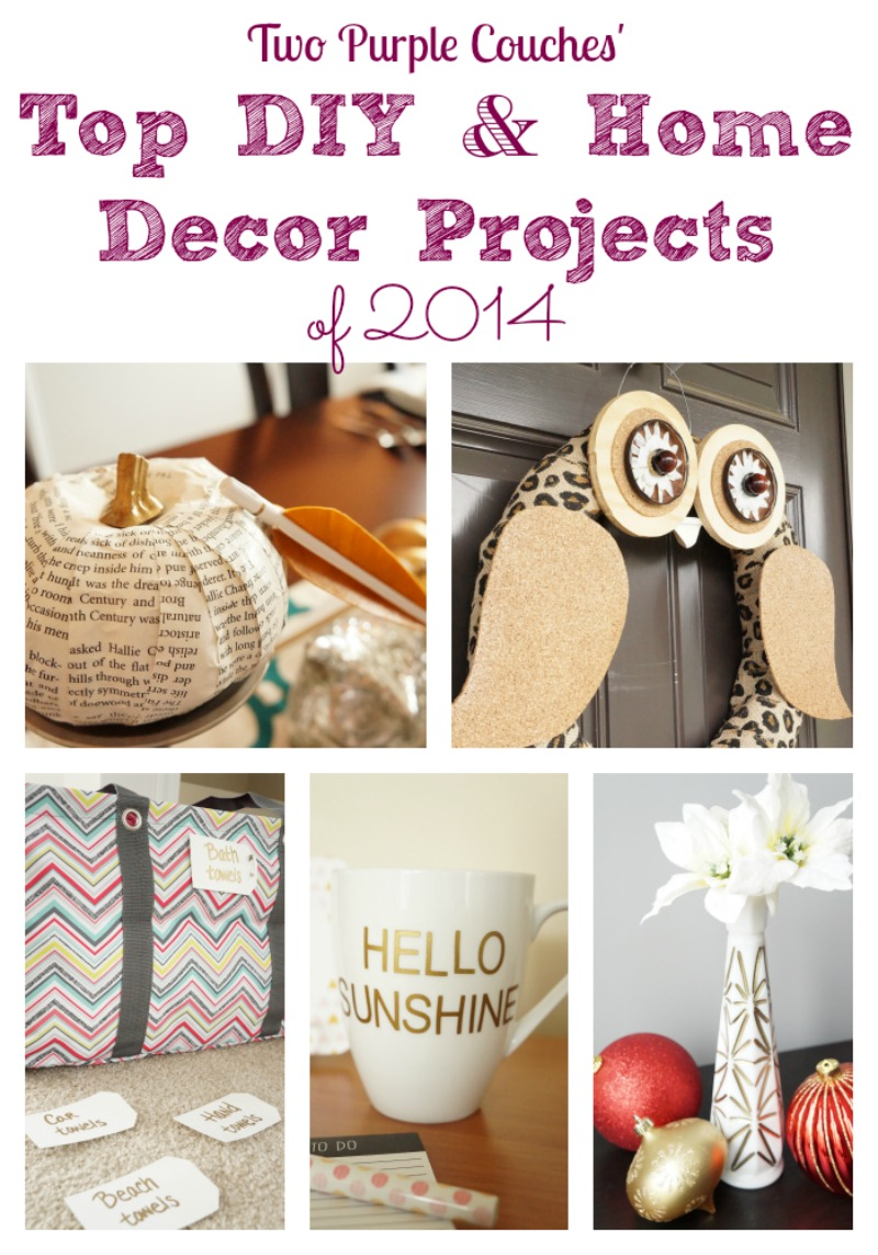 top diy and home decor projects of 2014 from two purple couches