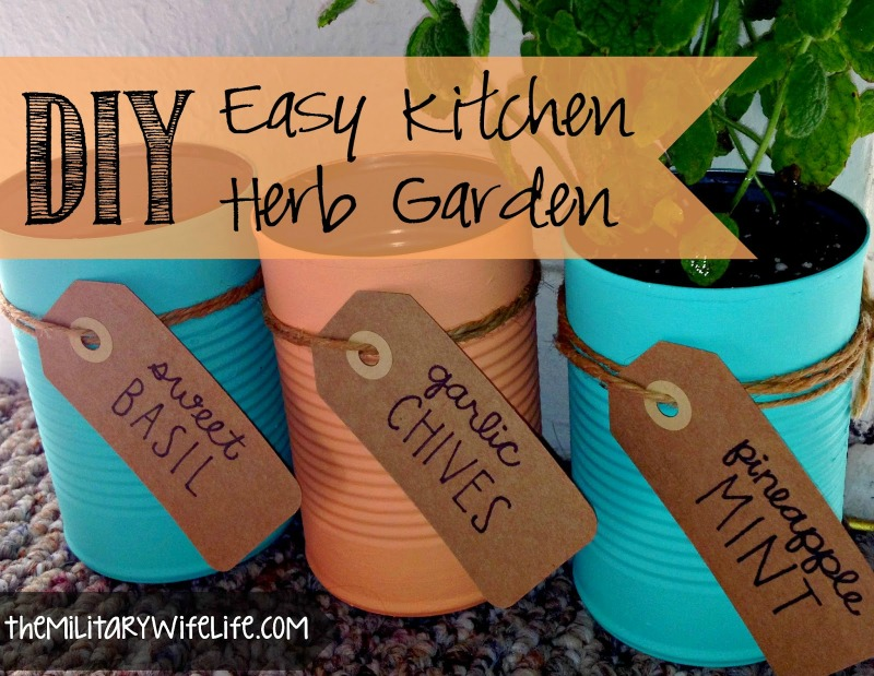 Creative Spark Feature: DIY herb garden