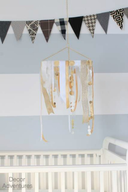 DIY Baby Mobile from Decor Adventures