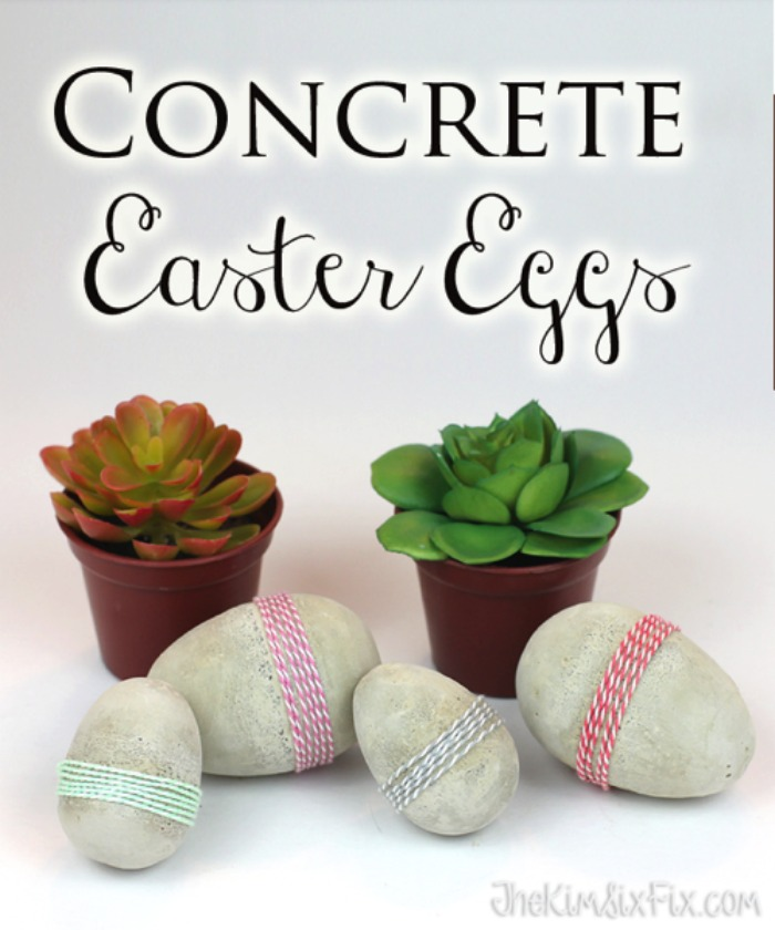 Concrete Eggs from The Kim Six Fix