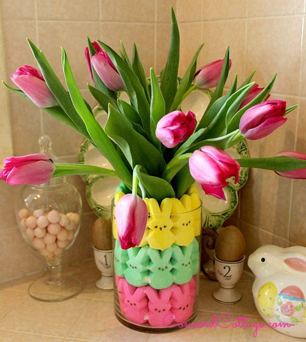 Creative Spark Feature: Easter Peeps Floral Arrangement