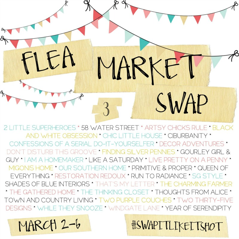 Flea Market Swap between 33 bloggers!