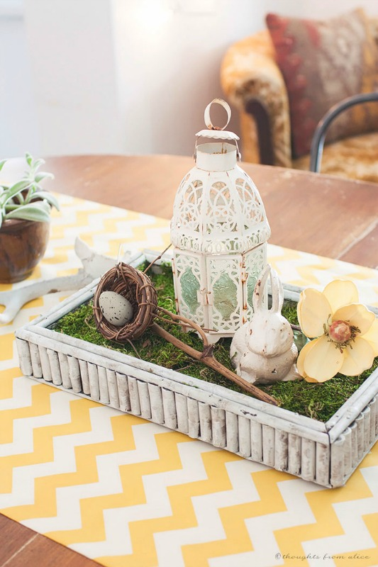 Rustic Modern Spring Table from Thoughts from Alice