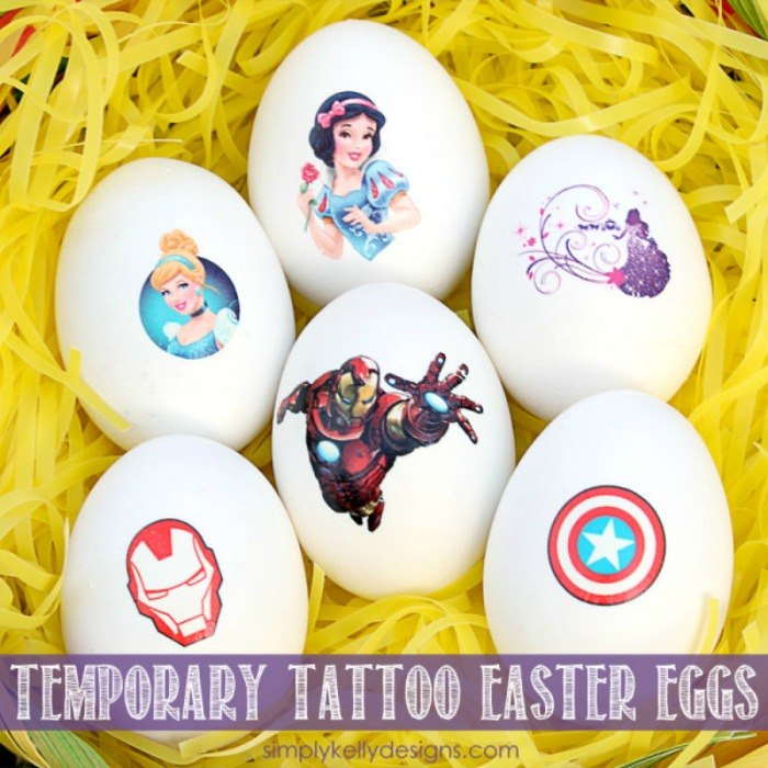 Temporary Tattoo Eggs from Simply Kelly Designs