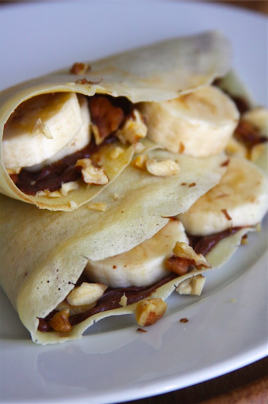 Creative Spark Feature: Banana Nutella Crepes