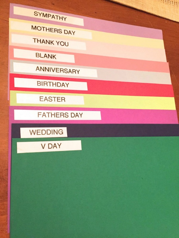 greeting-card-organization