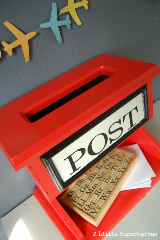 Kids Post Box from 2 Little Superheroes