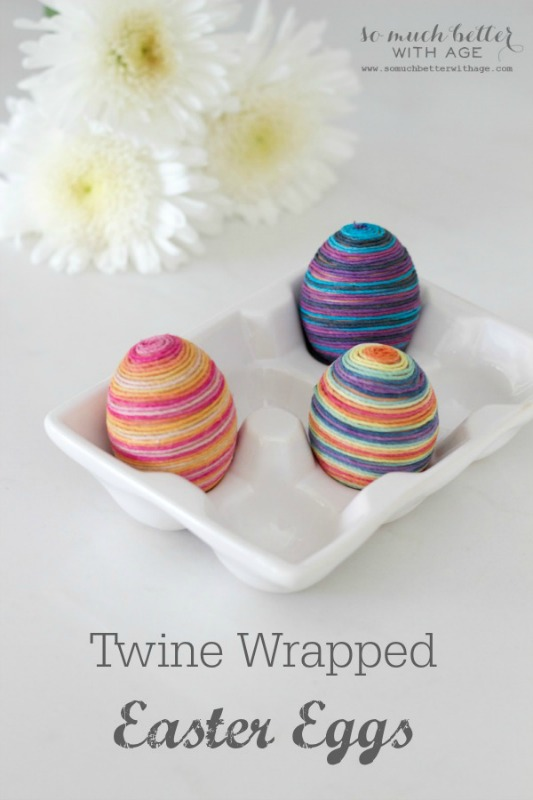 Twine Wrapped Eggs from So Much Better With Age