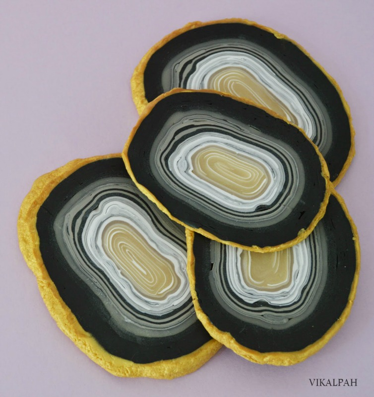 Creative Spark Feature: Agate Coasters from Vikalpah