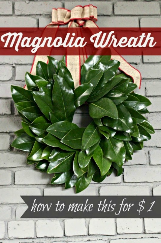 Magnolia Wreath from Southern State of Mind
