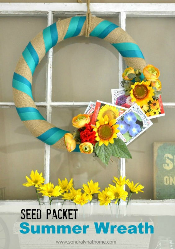Seed Packet Wreath from Sondra Lyn At Home