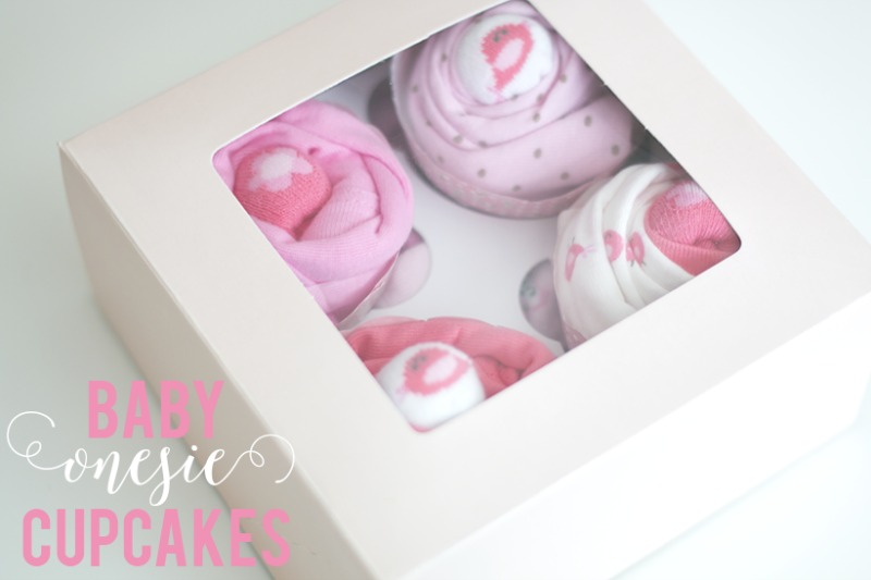 Creative Spark Feature: Baby Onesie Cupcakes from Ash & Crafts