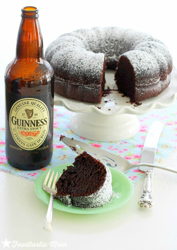 Guinness Chocolate Bundt Cake from Foodtastic Mom