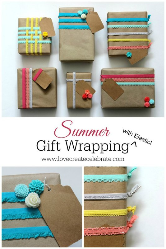 Creative Spark Feature: Summery Gift Wrap from Love Create Celebrate