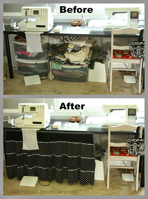 Creative Spark Link Party Most Clicked - How to Hide Your Fabric Stash from Behind the Seams Sewing