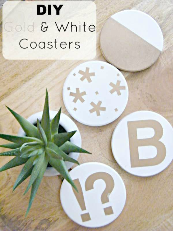 gold-white-coasters