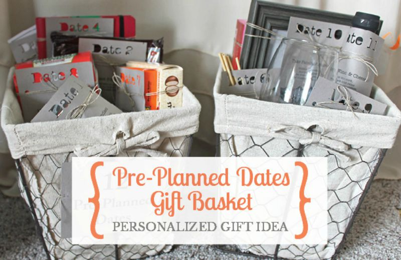 Pre-Planned Dates Gift Basket from Small Stuff Counts
