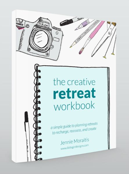 The Creative Retreat Workbook by Jennie Moraitis