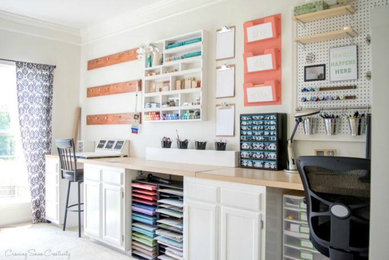Craft Room from Craving Some Creativity
