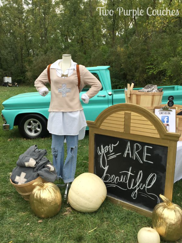 Beautiful message from Farmhouse Frocks. Found at the 2015 Country Living Fair, Columbus, Ohio. via www.twopurplecouches.com