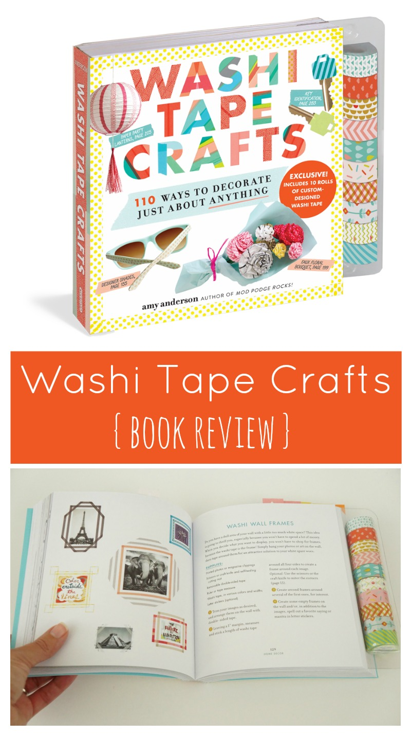 A Review Of Washi Tape Crafts By Amy Anderson Two Purple