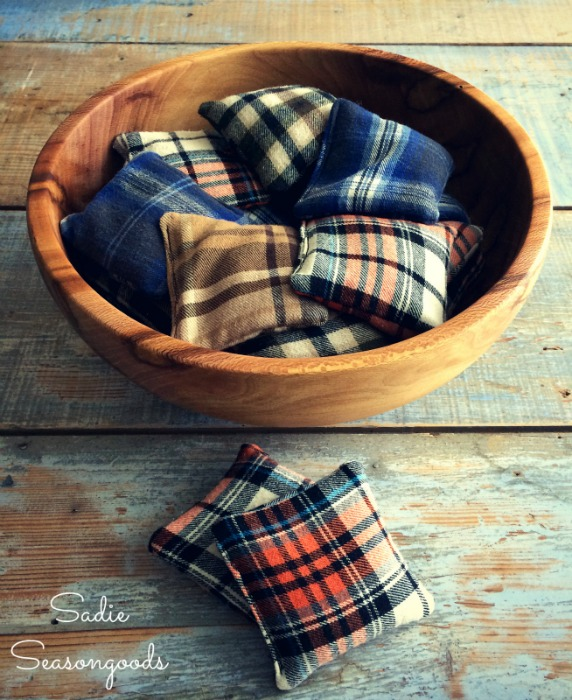 Flannel Scrap Reusable Hand Warmers from Sadie Seasongoods