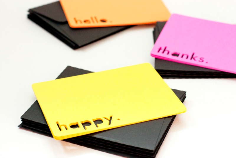 bright greeting cards from the small stuff counts