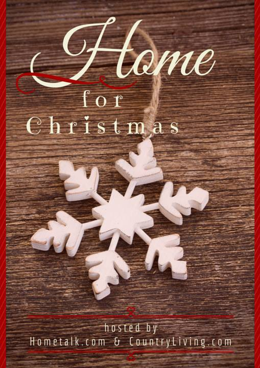 Home for Christmas Hop hosted by Hometalk.com and CountryLiving.com