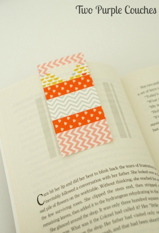 Easy Washi Tape Bookmarks
